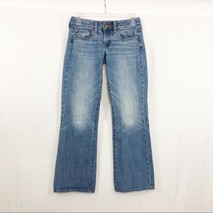 American Eagle Boyfriend Jeans, Size 2 Short, Blue